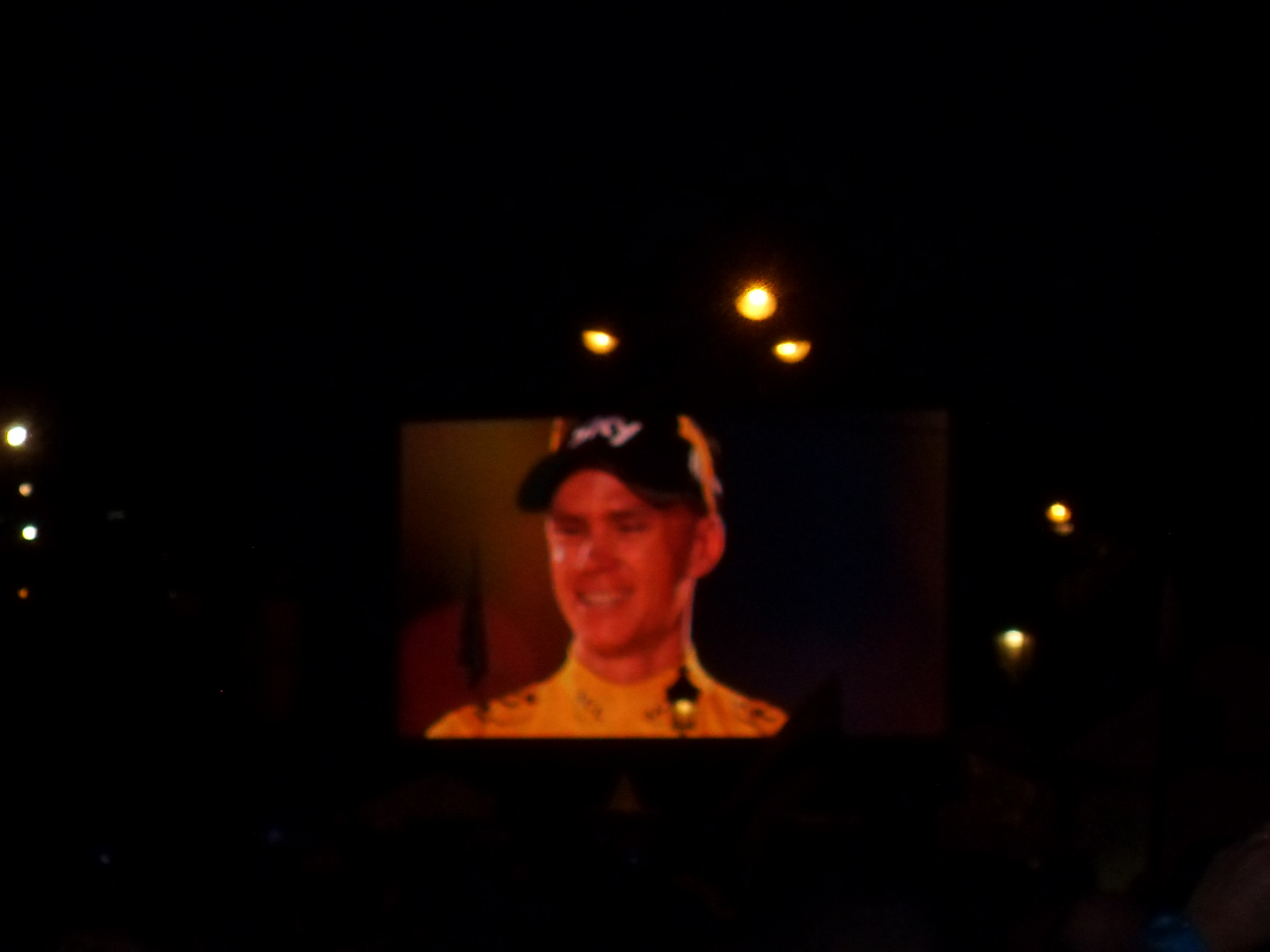 Christopher Froome, el ganador del 100 Tour de France